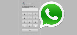 Password lock for whatsapp android messenger